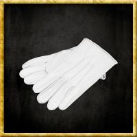Lederhandschuhe - Weiss