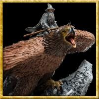 Herr der Ringe - Statue Gandalf auf Gwaihir