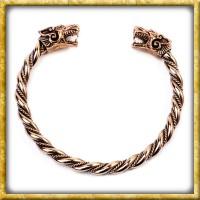 Wikinger Armreif Fenris aus Bronze - Klein