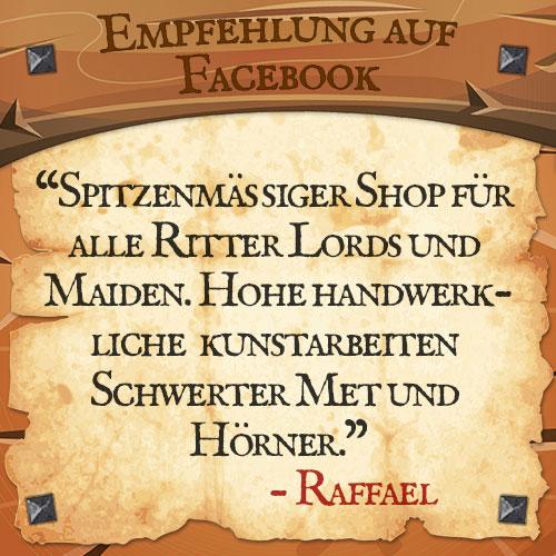 Facebook Bewertung Raffael | Drachenhort