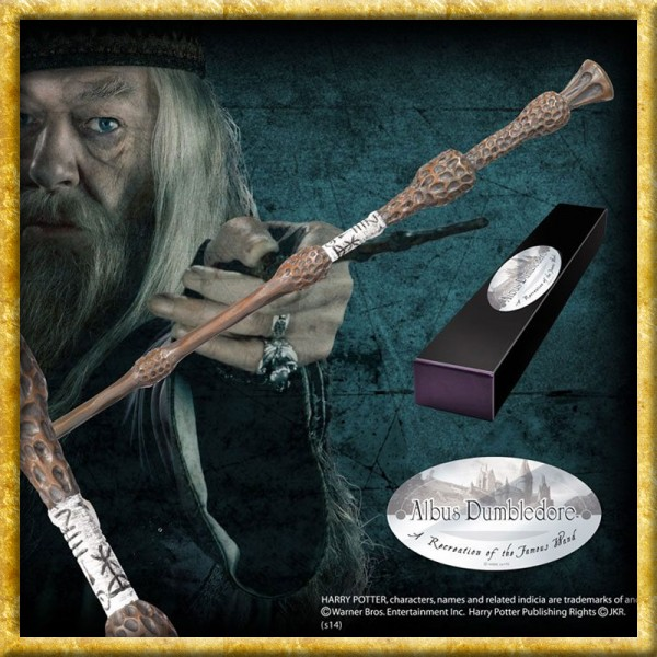 Harry Potter - Zauberstab Albus Dumbledore Charakteredition