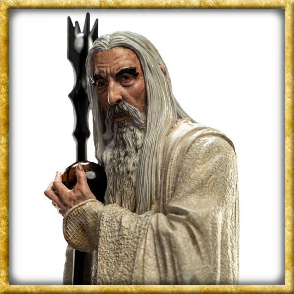 Herr der Ringe - Statue Saruman der Weisse