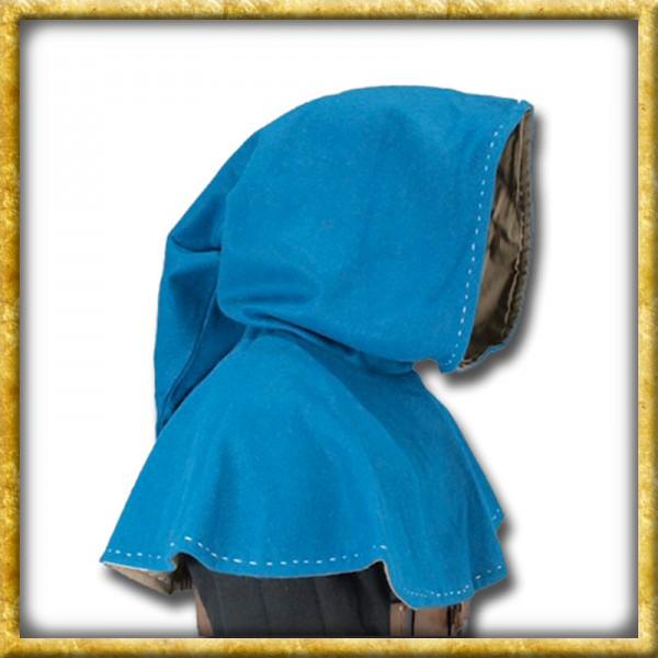 Mittelalter Gugel - Blau