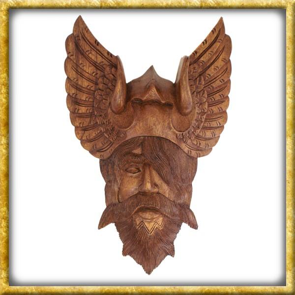Odin - Handgeschnitzt