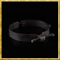 Mittelalterliche handgeschmiedete Halsschelle