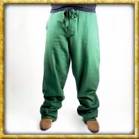 Weiche Hose mit Knopf - Grün