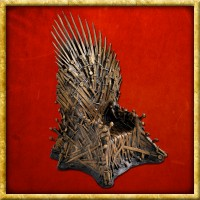 Game of Thrones - Bronze Statue Eiserner Thron