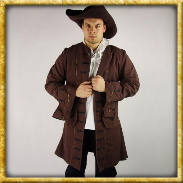 Piraten Gehrock - Braun