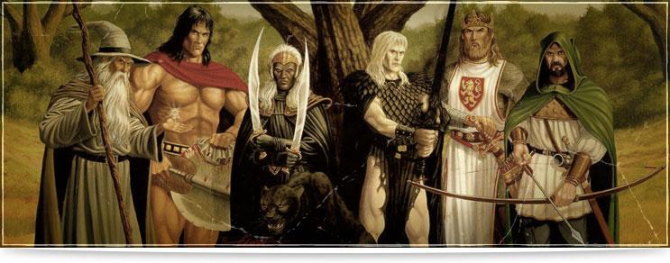 Mittelalter Gewandungen für den Recken