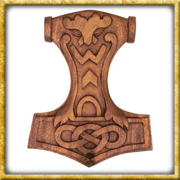 Thorshammer mit Knotenmuster - Mjölnir