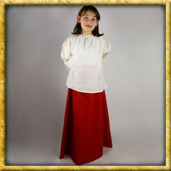 Mittelalter Rock für Mädchen - Rot