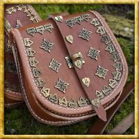 Wikinger Gürteltasche aus Leder - Tarsoly