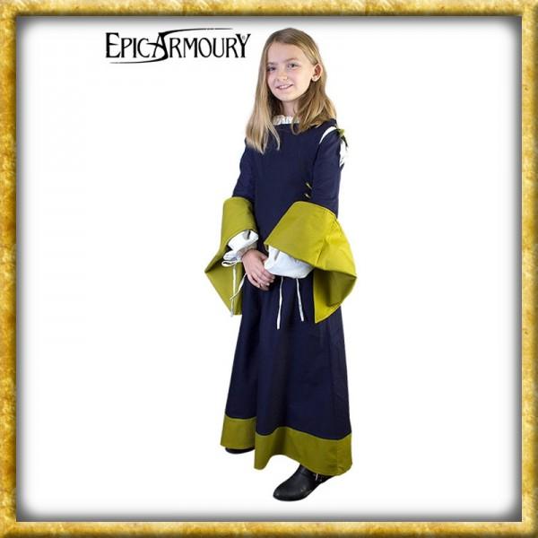 Mittelalterliches Kinderkleid - Blau
