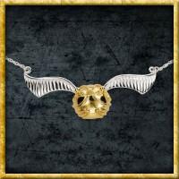 Harry Potter - Halskette mit Anhänger goldener Schnatz