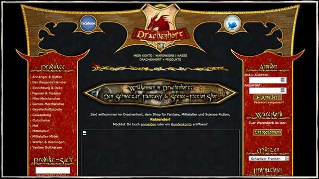 Erste Version des Drachenhorts | Drachenhort