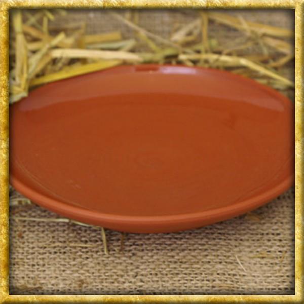 Provinzialrömischer Teller aus Ton - 18cm