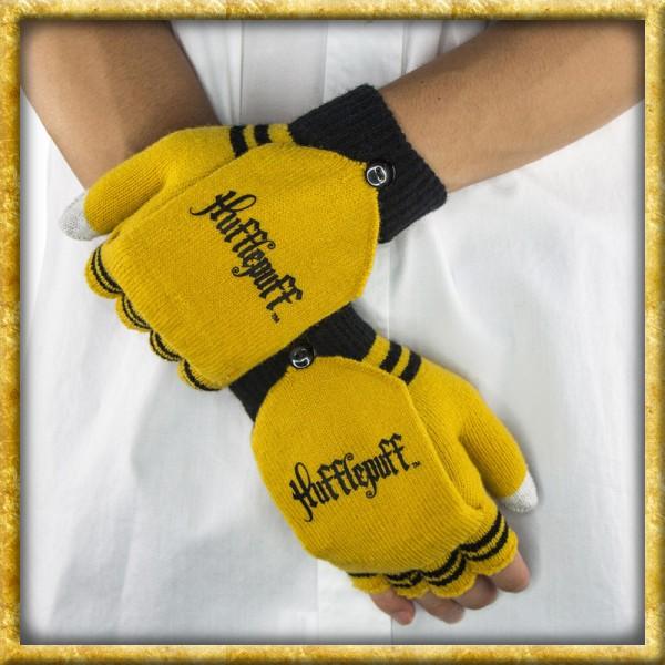 Harry Potter - Fingerlose Handschuhe Hufflepuff