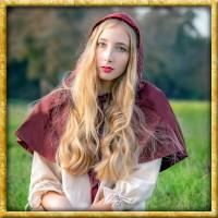 Gugel aus Baumwolle Graziella - Rot
