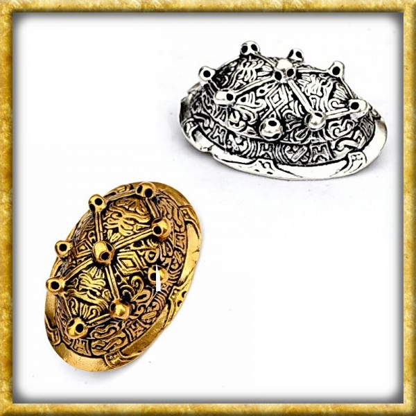Wikinger Schalenfibel Saltvik - Silber oder Bronze
