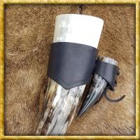 Trinkhorn Set mit Halter - Kleiner und grosser Durst