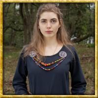 Schlichtes Mittelalterkleid Afra - Dunkelblau