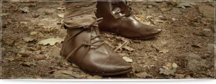 Mittelalter Schuhwerk, Stiefel, Bundschuhe und mehr | Drachenhort