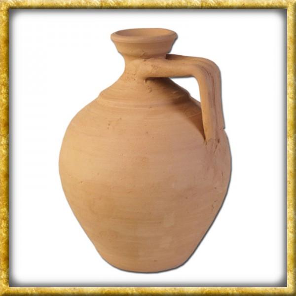Römische Enghalsflasche aus Ton