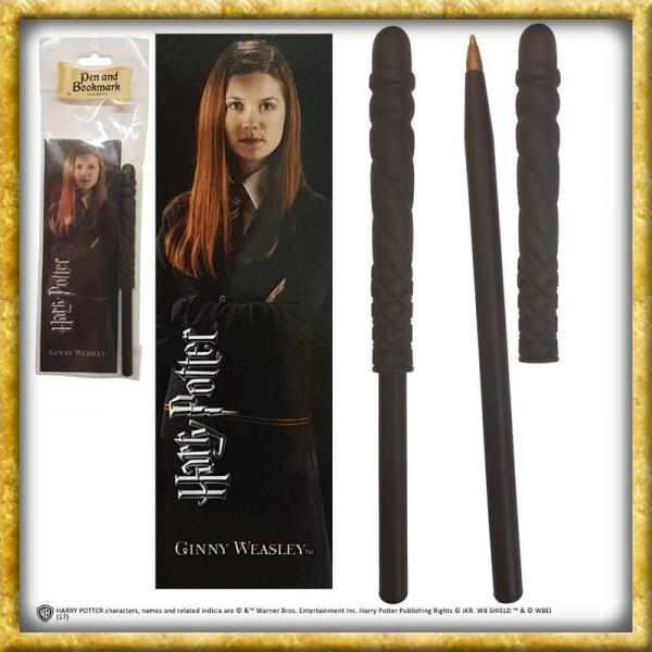 Harry Potter Kugelschreiber & Lesezeichen - Ginny