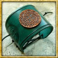 Lederarmband - Keltische Knoten Hibernia