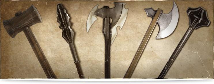 LARP Hieb & Schlagwaffen | Drachenhort