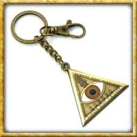 Phantastische Tierwesen Schlüsselanhänger Triangle Auge