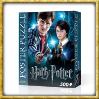 Harry Potter - Poster Puzzle Harry Potter