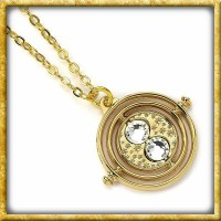 Harry Potter - Halskette & Anhänger vergoldeter Zeitumkehrer