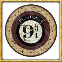 Harry Potter - Wanduhr Plattform 9 3/4