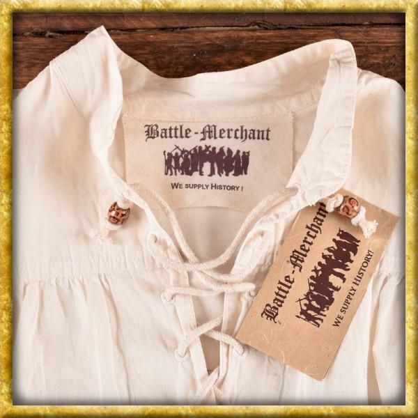 Mittelalter Hemd Ludwig - Natur