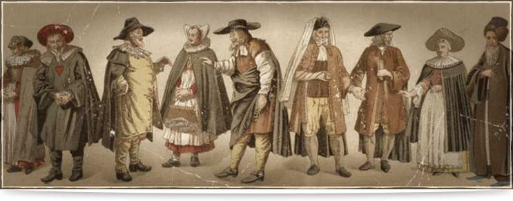 Mittelalter Gewandungen für Herren, Damen & Kinder
