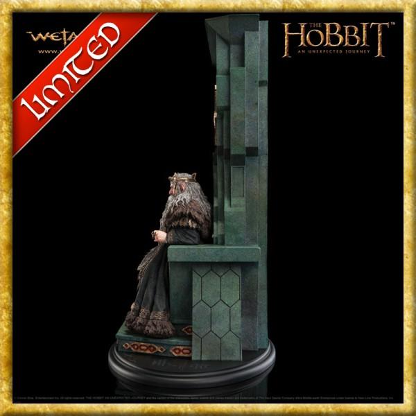 Der Hobbit - König Thror auf seinem Thron