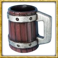 LARP Bierkrug mit Metallreifen