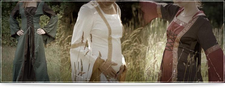 Mittelalter Kleider für die Maid | Drachenhort