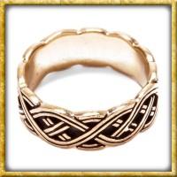 Nordmannen Ring aus Bronze