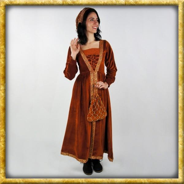 Adelskleid Königin Katharina - Rot