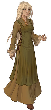 Wikinger Frau