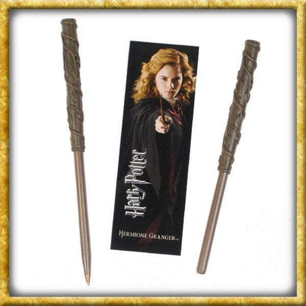 Harry Potter - Hermine Kugelschreiber & Lesezeichen