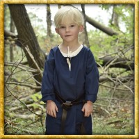 Mittelalter Tunika Arn für Kinder - Blau