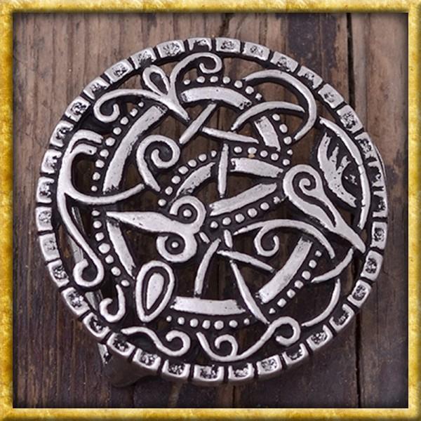 Gürtelschnalle Wikinger Pitneybrosche - Silber oder Bronze