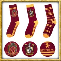 Harr Potter - Socken Gryffindor 3er Pack