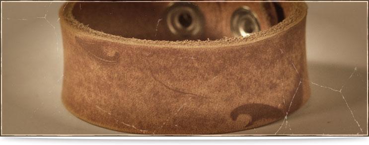 Mittelalter Armbänder aus Leder | Drachenhort