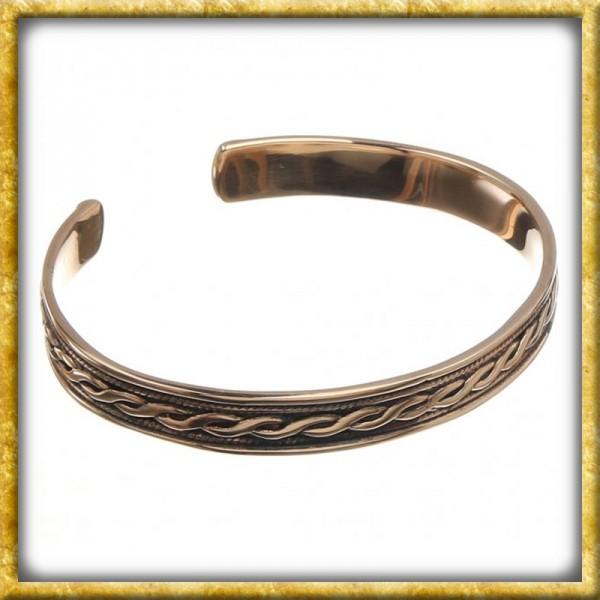 Armreif mit Keltischen Ornamenten aus Bronze
