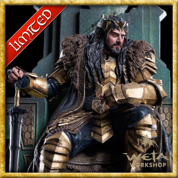 Der Hobbit - Replik König Thorin auf Thron