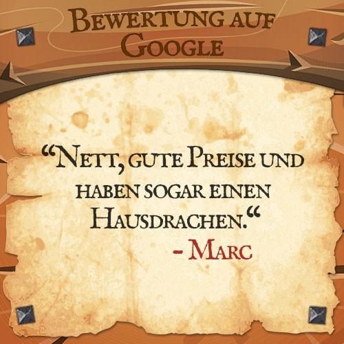 Google Bewertung Marc   Drachenhort